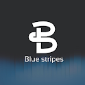 Blue Stripes Dark EMUI 9.1 / 10 Theme for Huawei icon
