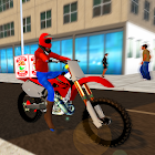 Pizza Bike Delivery Boy Simulator icon