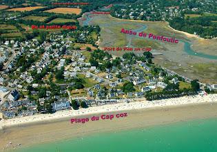 Photo: pour mieux comprendre les lieux en Fouesnant derrière le Cap Coz