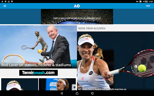 Australian Open Tennis 2018- screenshot thumbnail