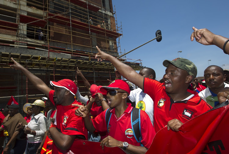 Cosatu wants more meat from the medium-term budget. Picture: REUTERS
