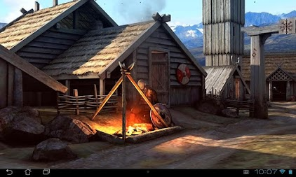 Vikings 3D LWP APK screenshot thumbnail 3
