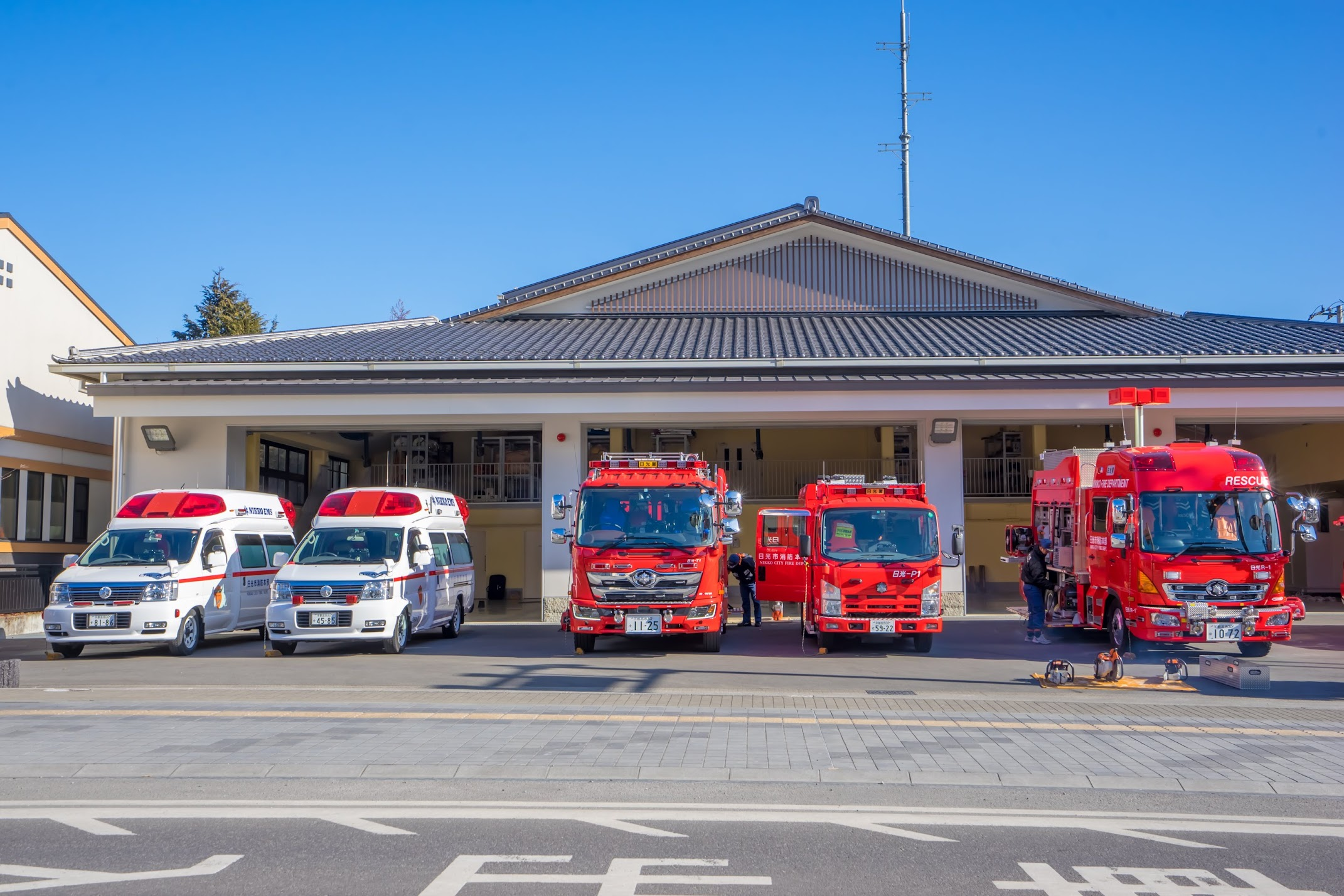 Nikko fire station3
