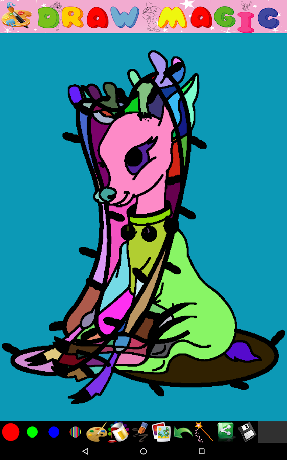 Coloring for Kid - Christmas - screenshot