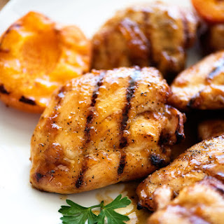 Grilled Apricot Chicken.
