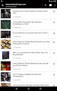 UniversHarryPotter.com- screenshot thumbnail