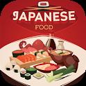 Japanese cuisine recipes icon