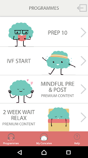 Mindful IVF- screenshot thumbnail