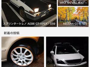 スプリンタートレノ AE86 GT-APEX・S59のカスタム事例画像 sasashu86さんの2019年10月25日12:25の投稿