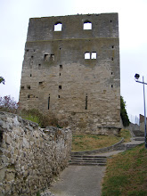 Photo: On higher ground in the town is the Romanesque Tour Montjoie, the remnant of a larger 11th century castle which strategically overlooked the valley of the Seine. It is 49 feet high, with walls almost 6 feet thick, and unusual in that all 4 walls are still standing.