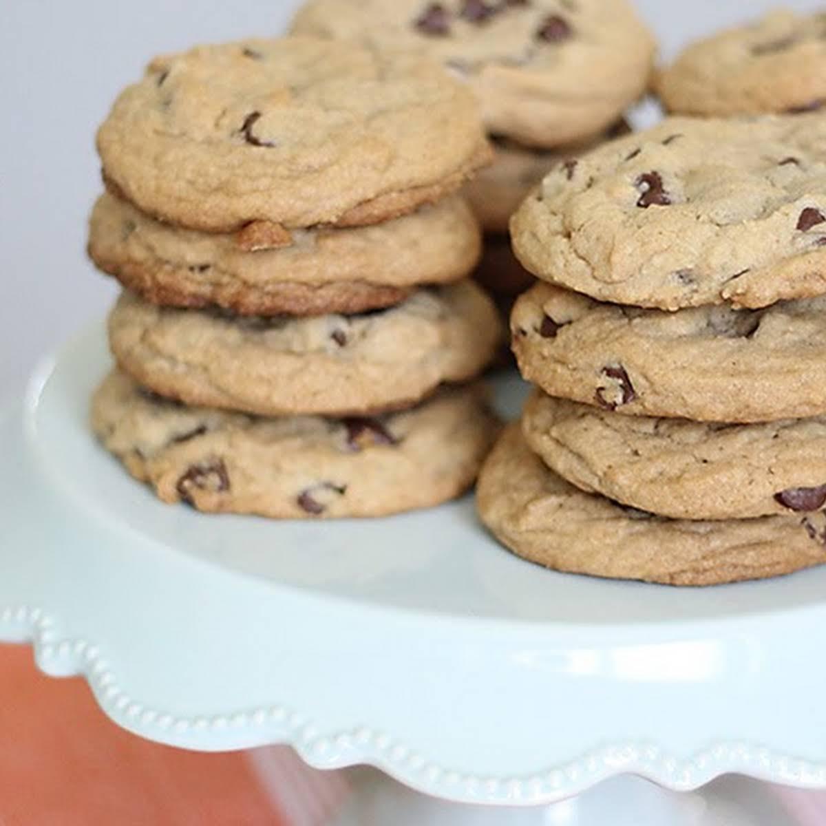 Tastes  considering Panera Chocolate Chip Cookies