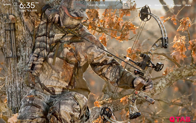 Bow Hunting Wallpapers New Tab Theme