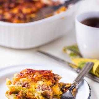 Chile Relleno Sausage Casserole.