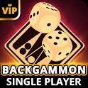 Backgammon Offline - Single Player Board Game icon