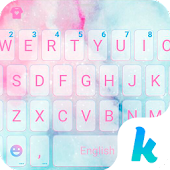 Cotton Candy Kika Keyboard