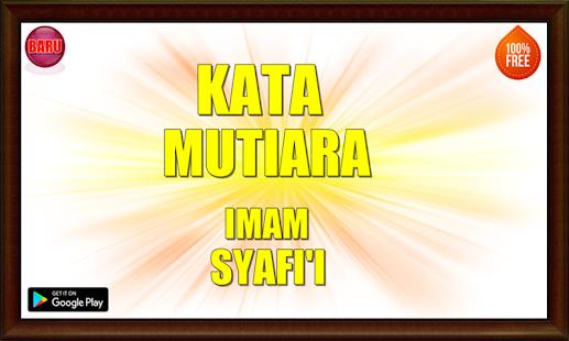 Kata Mutiara Imam Syafi'i Terbaru - náhled