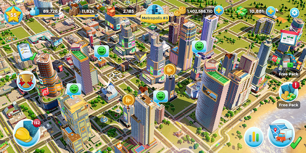 Citytopia MOD APK 2.9.10 [Unlimited Money + Unlimited Gold] 8