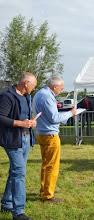 Photo: Keurmeesters de heren G. Bos en  P. van Haperen