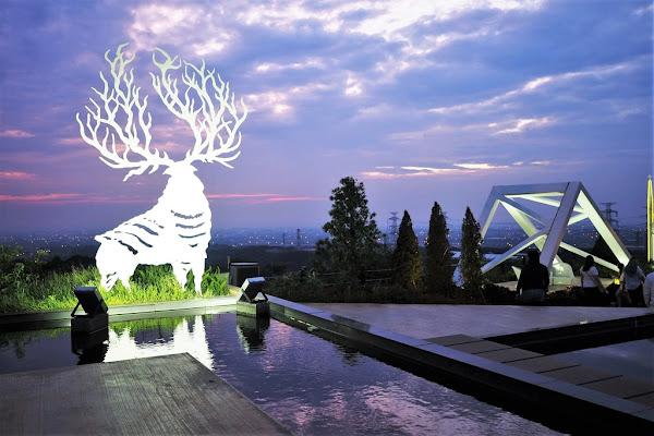 夏季三角景觀咖啡廳: 一場綺麗的仲夏夜之夢