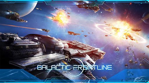 Galactic Frontline:リアルタイム SFストラテジーゲーム  captures d'écran 1