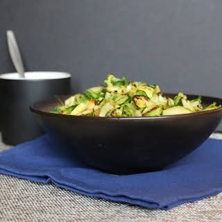 Ginger Tamarind Brussels Sprouts.