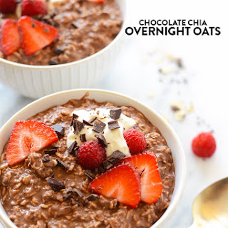Brownie Batter Overnight Oats