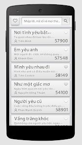 Vol57 Mã số Karaoke screenshot 2