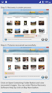 Photos Recovery Software Help screenshot 1