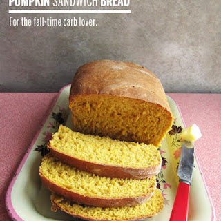 Pumpkin Sandwich Bread {Revisited} Recipe