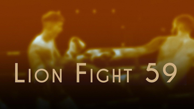 Watch Lion Fight 59 live