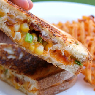 Sweet Corn and Bacon Grilled Cheese Recipe