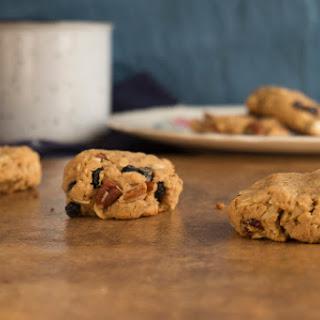 coconut cashew oatmeal cookies| GF + vegan