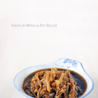 Nametake - Enoki in Mirin and Soy Sauce