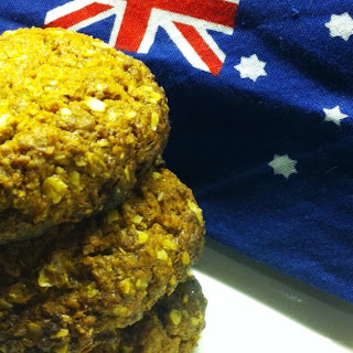Anzac Biscuits with Hazelnuts