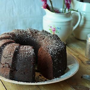 Cocoa and Carob Cake