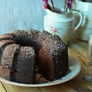 Cocoa and Carob Cake.