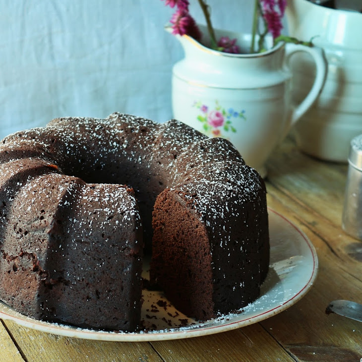 Cocoa and Carob Cake