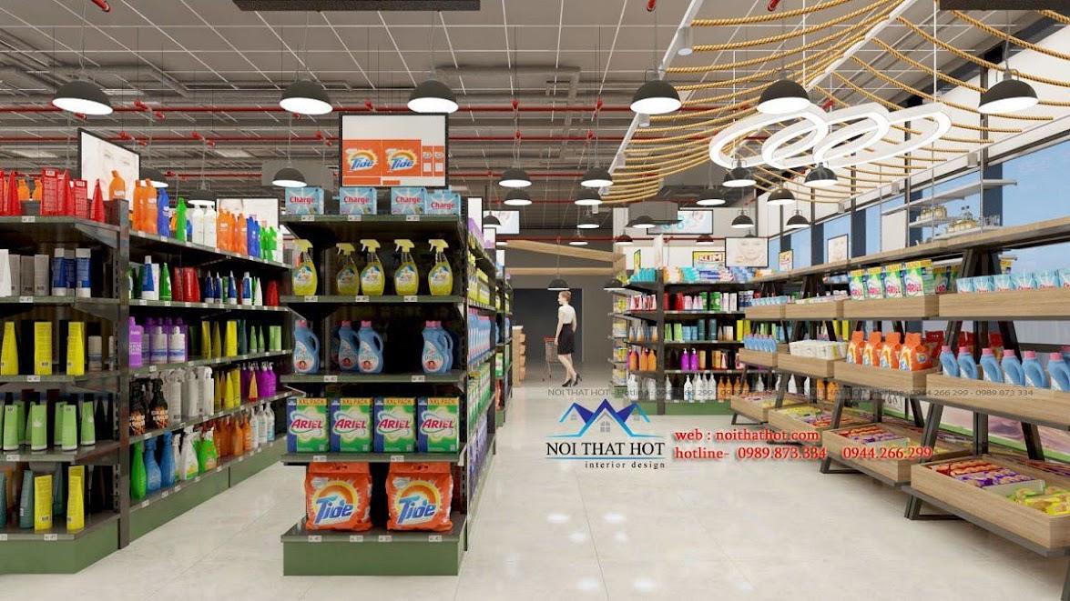 thiết kế quán trà sữa cafe và siêu thị 18