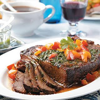 Slow-Cooker Beef Brisket.