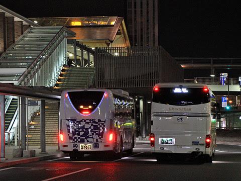 中国JRバス「グランドリーム横浜・東京2号」 1708 横浜・東京へ向けて出発_02