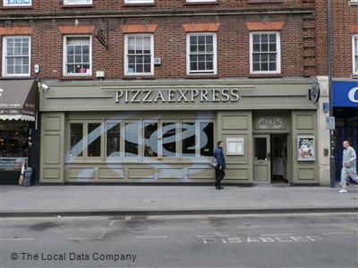Pizzaexpress On High Street Restaurant Italian In Slough