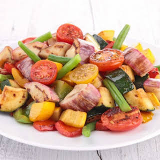 Lemon Pepper Vegetables.