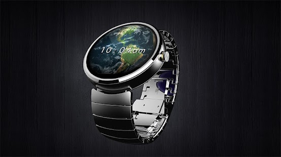 Earth 3D Watch Face- screenshot thumbnail