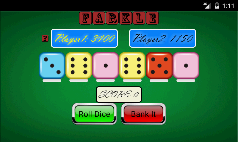 Farkle 10,000 Dice- screenshot