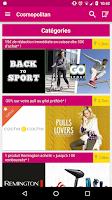 Screenshot of Cosmopolitan Bons Plans