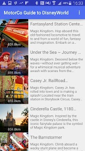 MapCo Guide to DisneyWorld screenshot 7