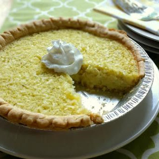 LIME COCONUT BUTTERMILK PIE
