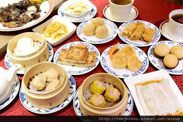 台北凱薩飯店王朝餐廳 超高cp值港點套餐!多種組合隨你搭配!