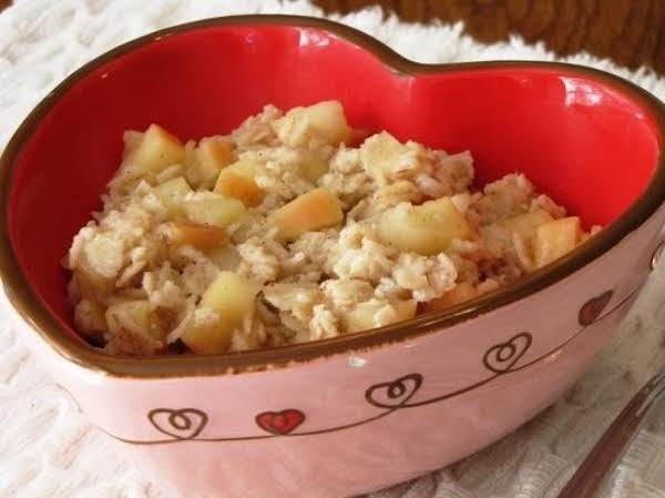 Golden Apple Oatmeal Recipe