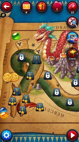 Clash of Cards - Classic Solitaire Games Tripeaks Screenshot